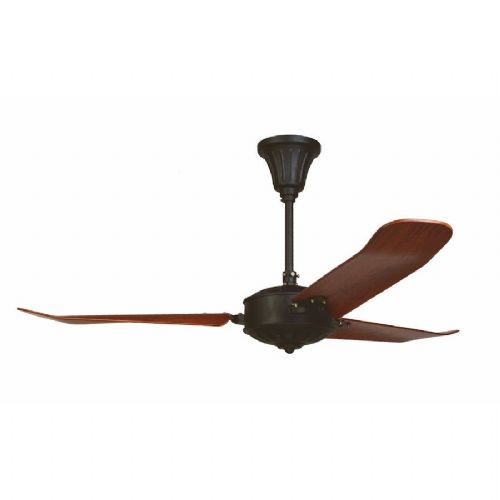 "Fantasia Islander 52"" Hammered Black Ceiling Fan 115922"